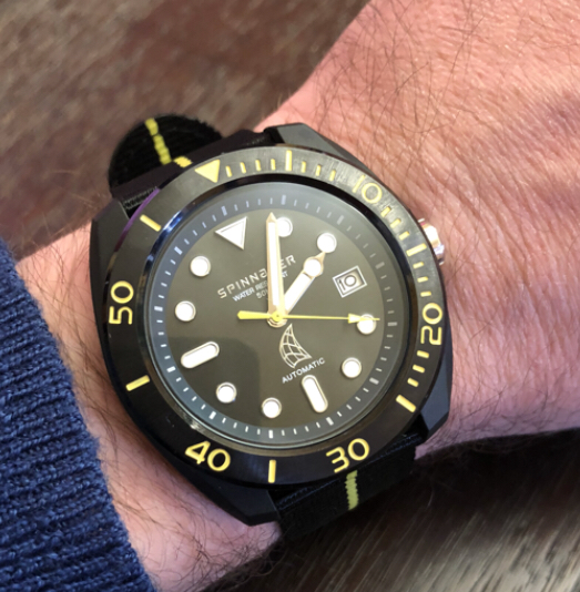 1a3271500eb Today we are going to take a look at an all new offering from the well  known Spinnaker Watch Company. They produce many active lifestyle watches  suitable ...